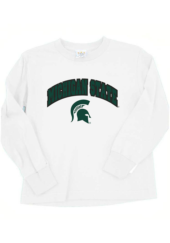Michigan State Spartans Toddler White Arch T-Shirt