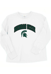 Michigan State Spartans Toddler White Arch Long Sleeve T-Shirt