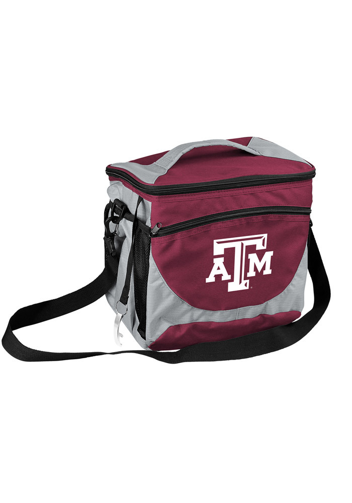 Texas A&M Aggies 24 Can Cooler - Image 1