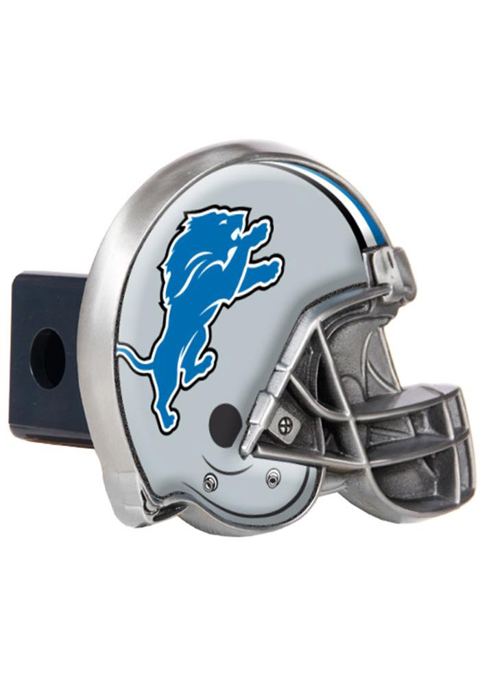 Detroit Lions Helmet Car Accessory Hitch Cover - Image 1