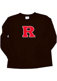 Rutgers Scarlet Knights Toddler Black Mascot T-Shirt