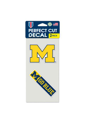Michigan Wolverines 4x4 2 Pack Perfect Cut Decal