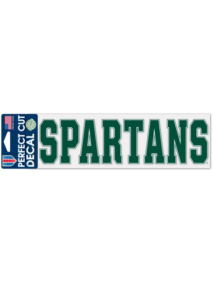 Michigan State Spartans 3x10 Perfect Cut Auto Auto Strip - Image 1