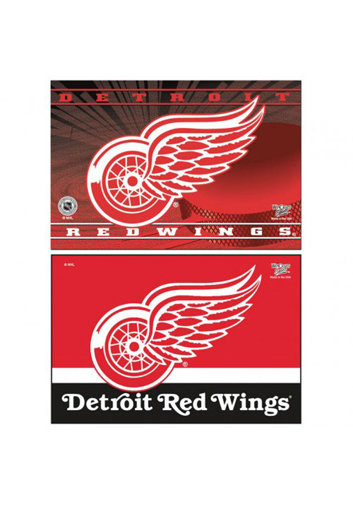 Detroit Red Wings 2pk Rectangle Magnet - Image 1