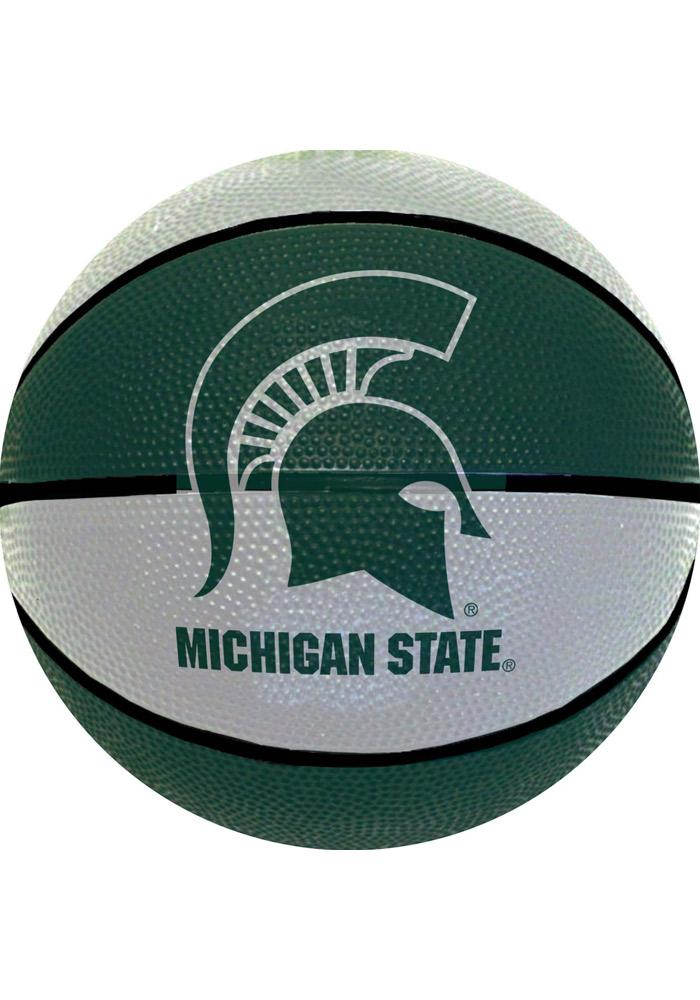 Michigan State Spartans Mini Rubber Basketball - Image 1