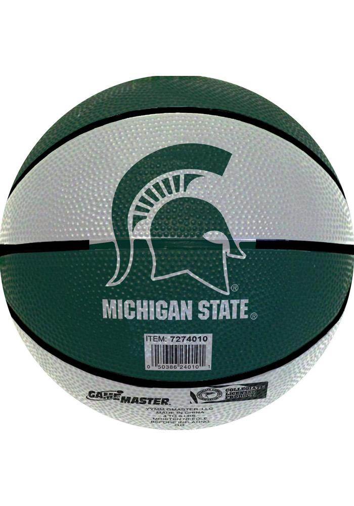 Michigan State Spartans Mini Rubber Basketball - Image 2