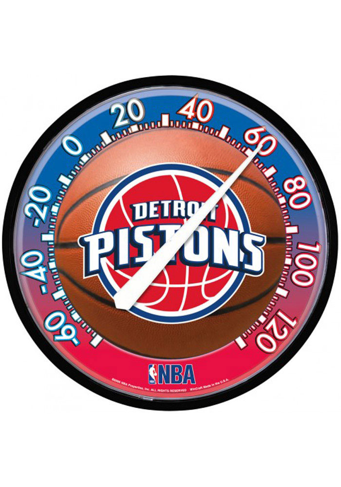 Detroit Pistons Thermometer Weather Tool - Image 1