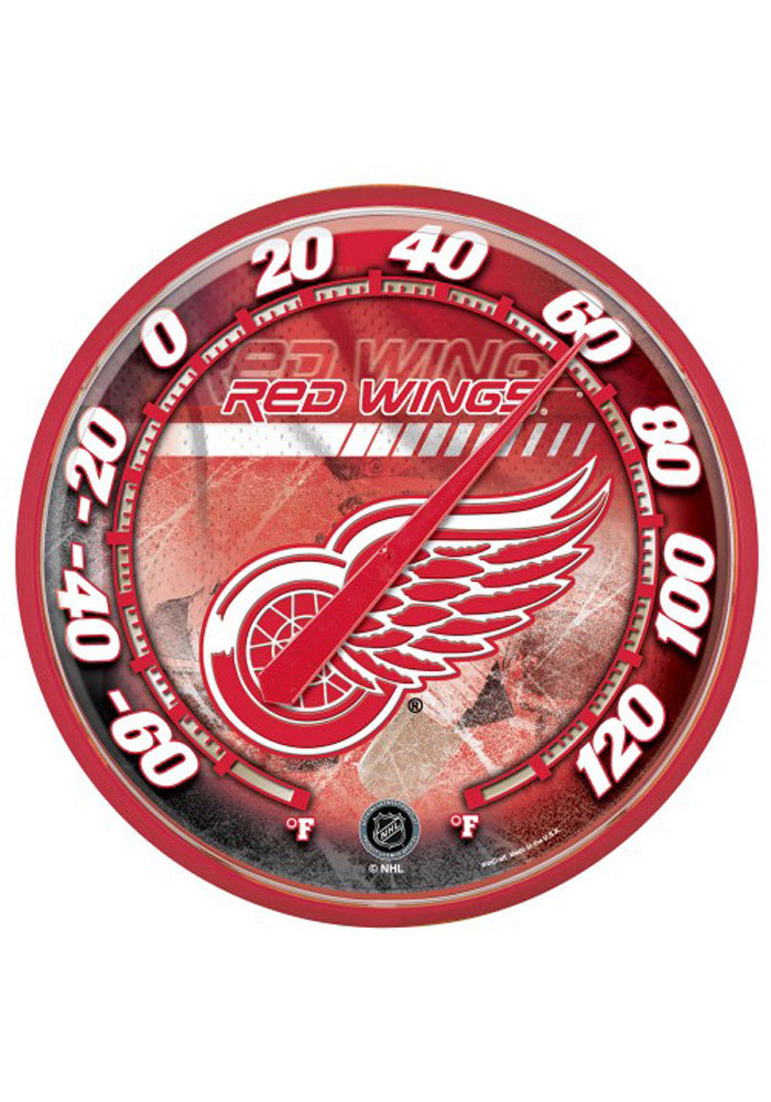 Detroit Red Wings Thermometer Weather Tool - Image 1