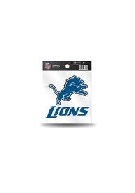 Detroit Lions Small Auto Static Cling