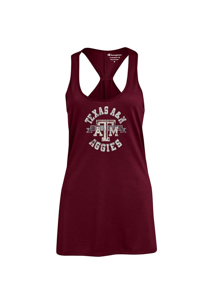 Champion Texas A&M Aggies Juniors Maroon Swing Tank Top - Image 1