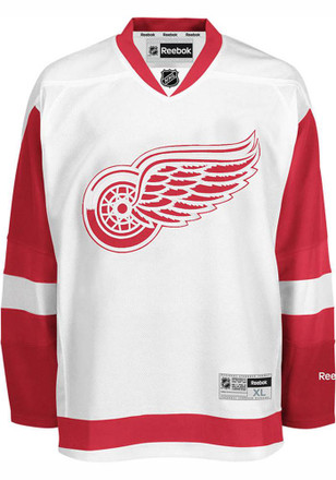 Detroit Red Wings Mens White Center Ice Premire Jersey