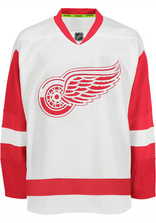 Detroit Red Wings Mens White Center Ice Authentic Jersey