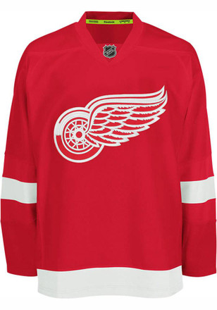 Detroit Red Wings Mens Red Center Ice Authentic Jersey