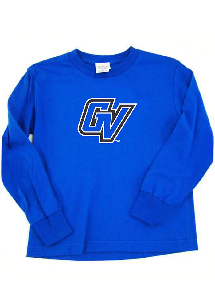 Grand Valley State Lakers Toddler Blue Logo Long Sleeve T-Shirt - Image 1