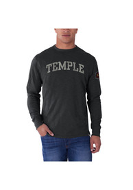 47 Temple Owls Charcoal Arch Fashion Tee
