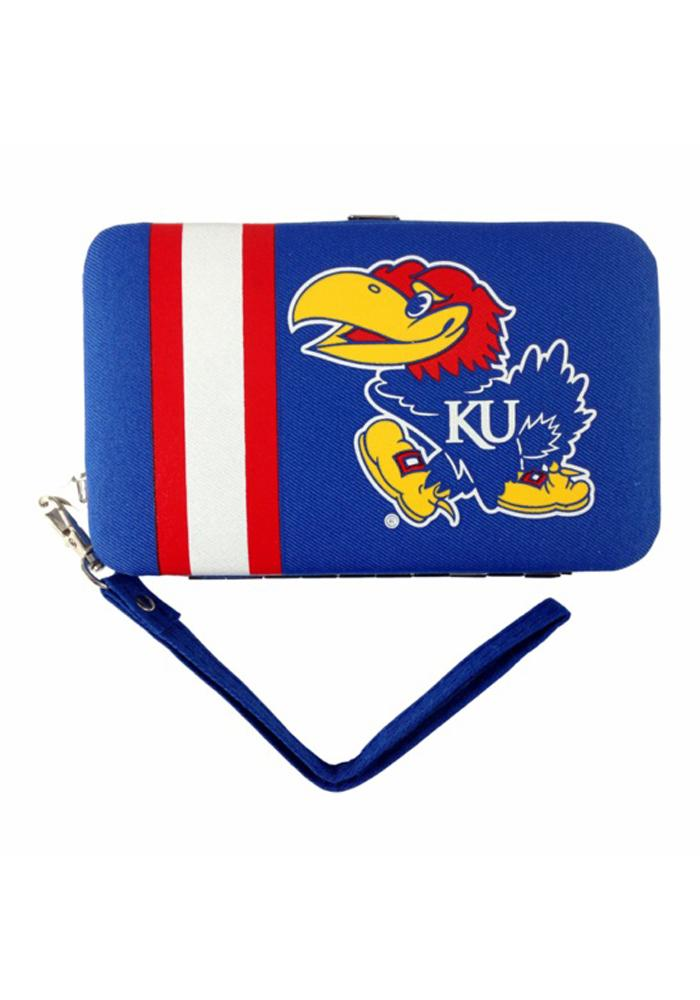 Kansas Jayhawks Smart Womens Wallets - Image 1