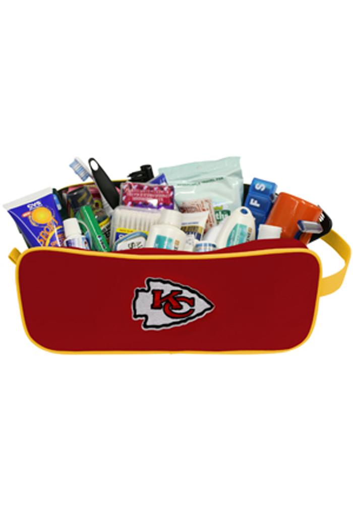 Kansas City Chiefs Travel Mens Shave Kit - Image 1
