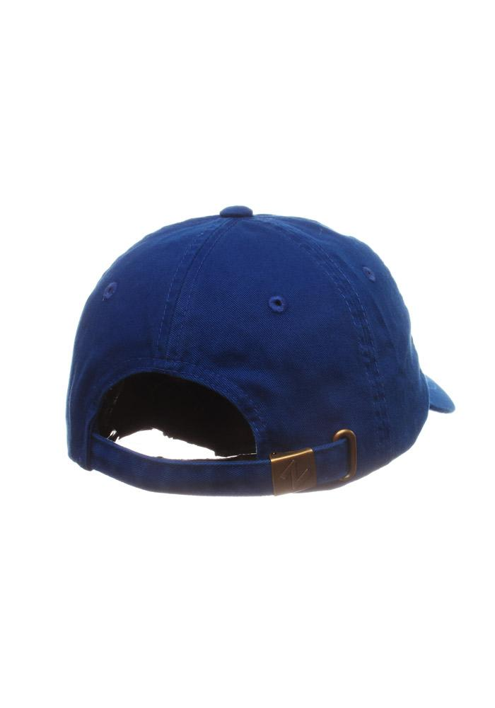 Zephyr Grand Valley State Lakers Mens Blue Centerpiece Adjustable Hat - Image 2