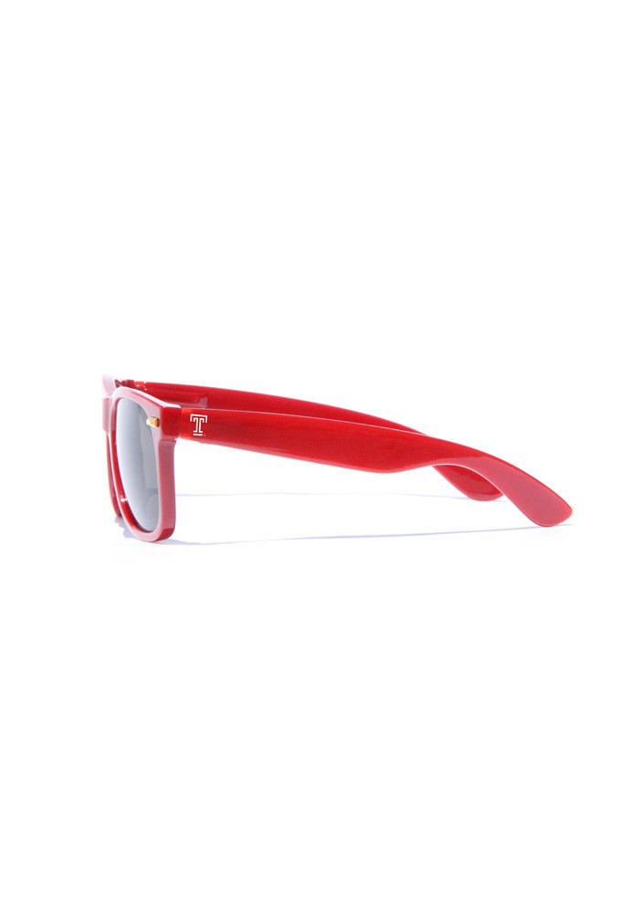 Temple Owls Smoke Lense Mens Sunglasses - Image 1