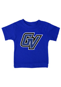 Grand Valley State Lakers Infant Logo T-Shirt - Blue
