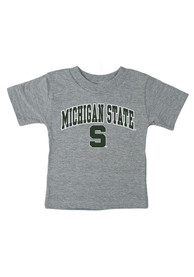 Michigan State Spartans Infant Arch T-Shirt - Grey