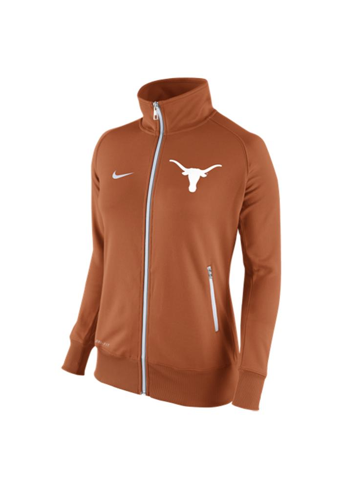 Nike Texas Longhorns Juniors Orange MVP Long Sleeve Track Jacket - Image 1