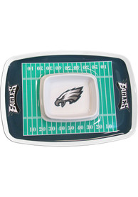 Philadelphia Eagles Field Chip and Dip Serving Tray