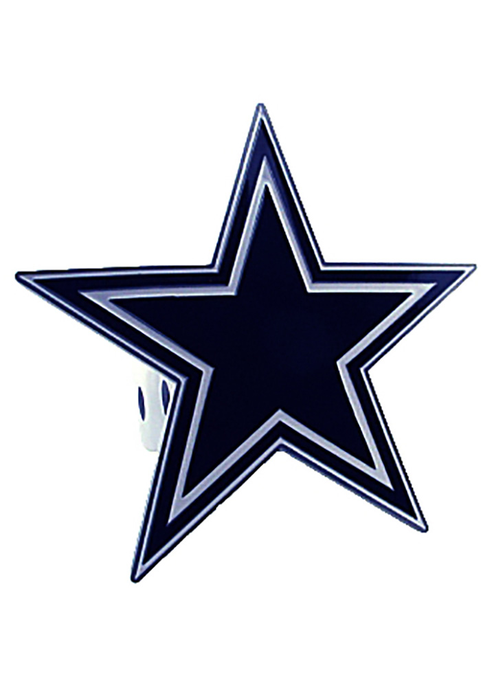 Dallas Cowboys Large Class II & III Car Accessory Hitch Cover - Image 1