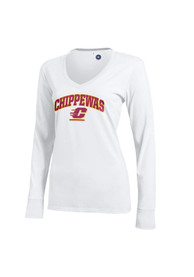 Central Michigan Chippewas Juniors White Campus T-Shirt
