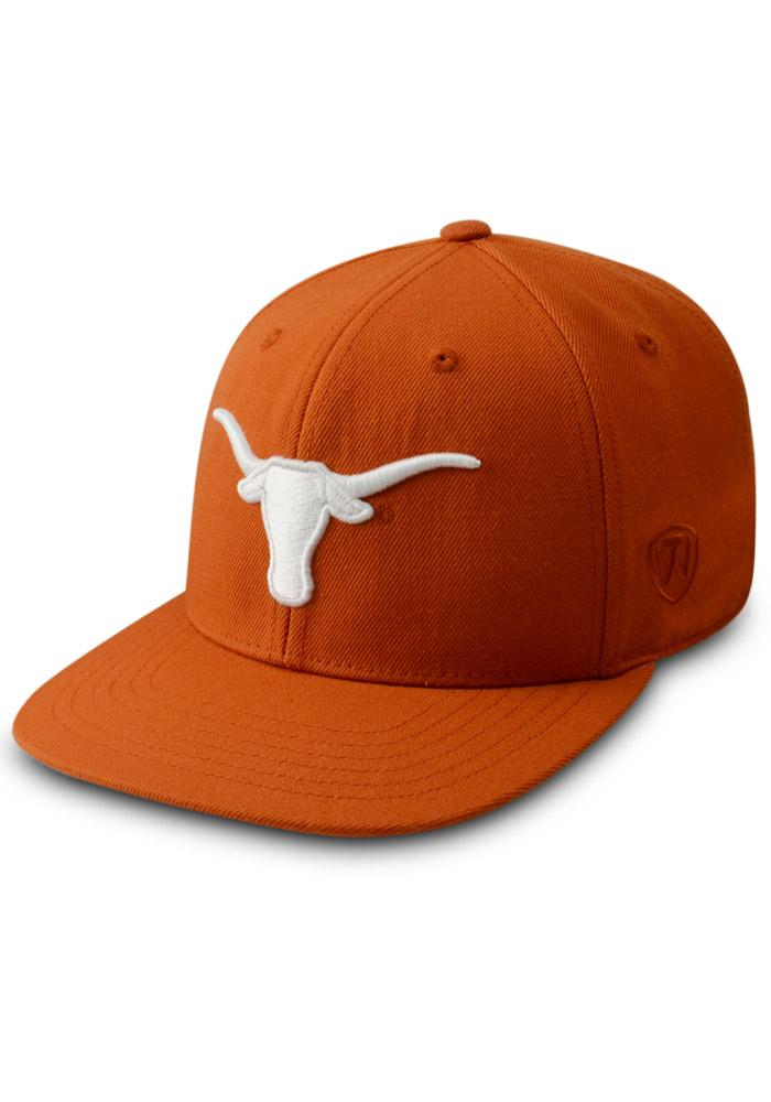 070782b6c46 ... where to buy top of the world texas longhorns mens orange prime fitted  hat image 1