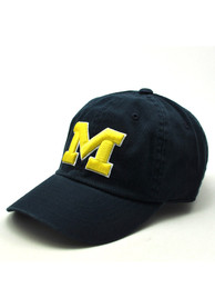 Michigan Wolverines Baby Top of the World Crew Adjustable Hat - Navy Blue