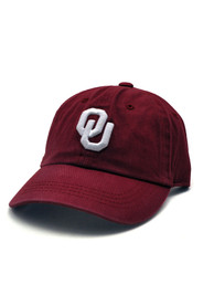 Oklahoma Sooners Baby Top of the World Crew Adjustable Hat - Crimson