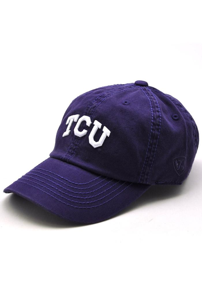 Top of the World TCU Horned Frogs Purple Crew Youth Adjustable Hat 14400301