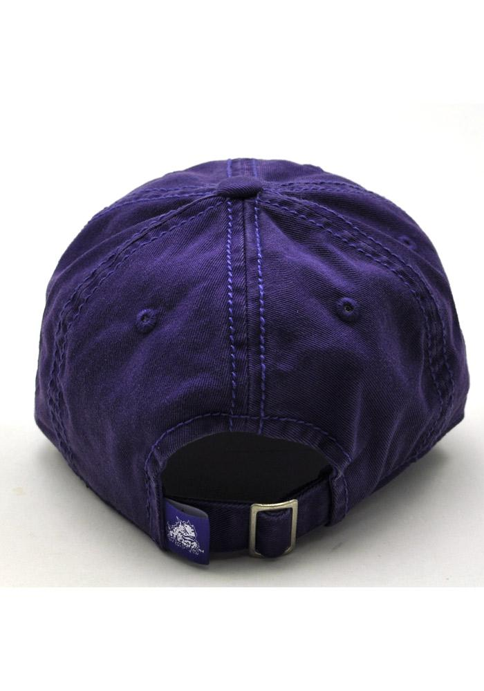 Top of the World TCU Horned Frogs Purple Crew Youth Adjustable Hat - Image 2