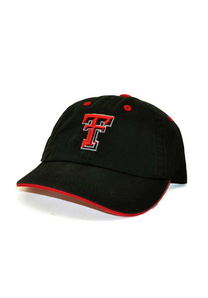 Top of the World Texas Tech Red Raiders Toddler Black Crew Toddler Hat 74b1ca4de730
