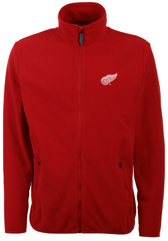 Antigua Detroit Red Wings Mens Red Ice Light Weight Jacket - Image 1