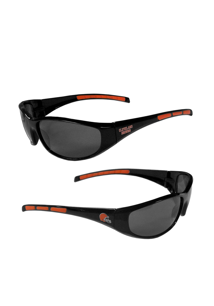 Cleveland Browns Wrap Mens Sunglasses - Image 1