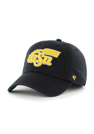 Wichita State Shockers 47 Black 47 Franchise Fitted Hat