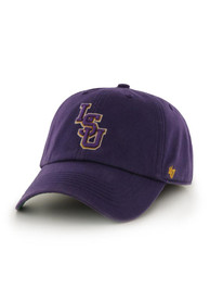 LSU Tigers 47 Purple 47 Franchise Fitted Hat
