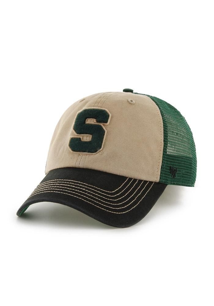 Michigan State Spartans 47 McNally Adjustable Hat - Green