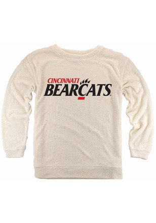 Cincinnati Bearcats Womens Cozy Oatmeal Crew Sweatshirt