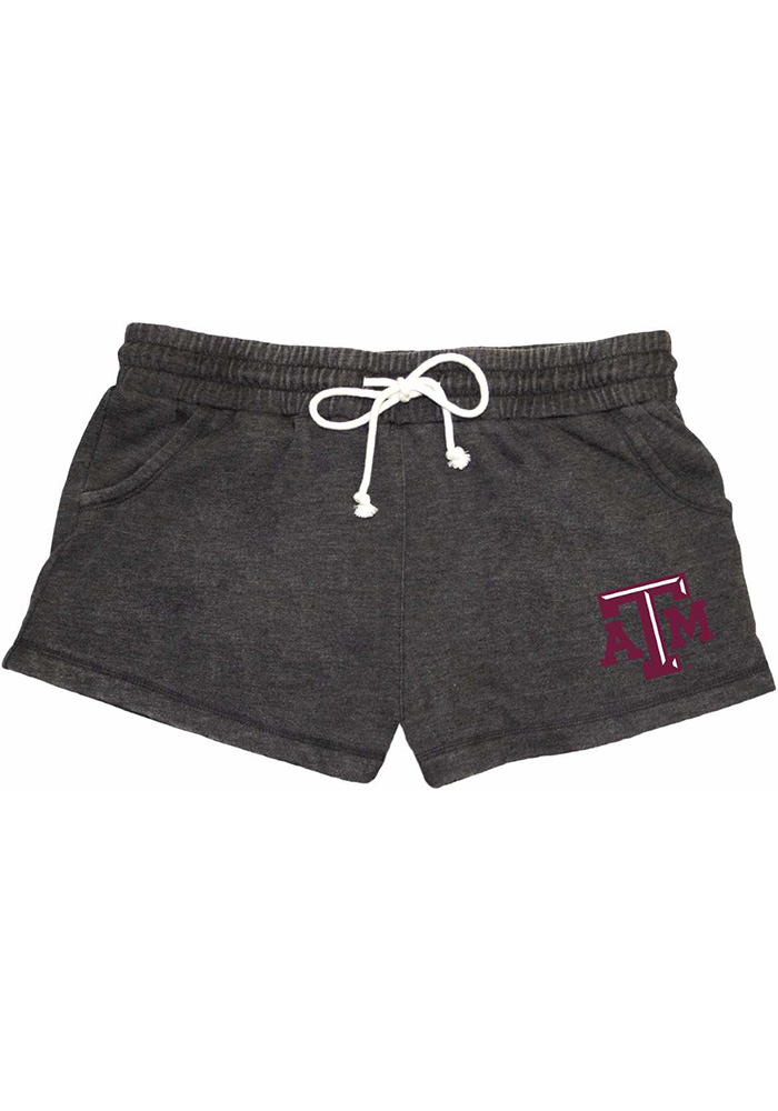 Texas A&M Aggies Womens Grey Rally Shorts - Image 1