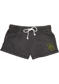 Baylor Bears Womens Rally Shorts - Charcoal