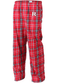 Rutgers Scarlet Knights Flannel Sleep Pants - Red