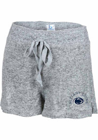 Womens Penn State Nittany Lions Cuddle Shorts - Grey
