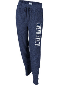 Penn State Nittany Lions Womens Cuddle Sweatpants - Navy Blue
