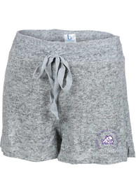 TCU Horned Frogs Womens Cuddle Shorts - Grey