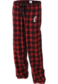 Cincinnati Bearcats Womens Flannel Sleep Pants - Red