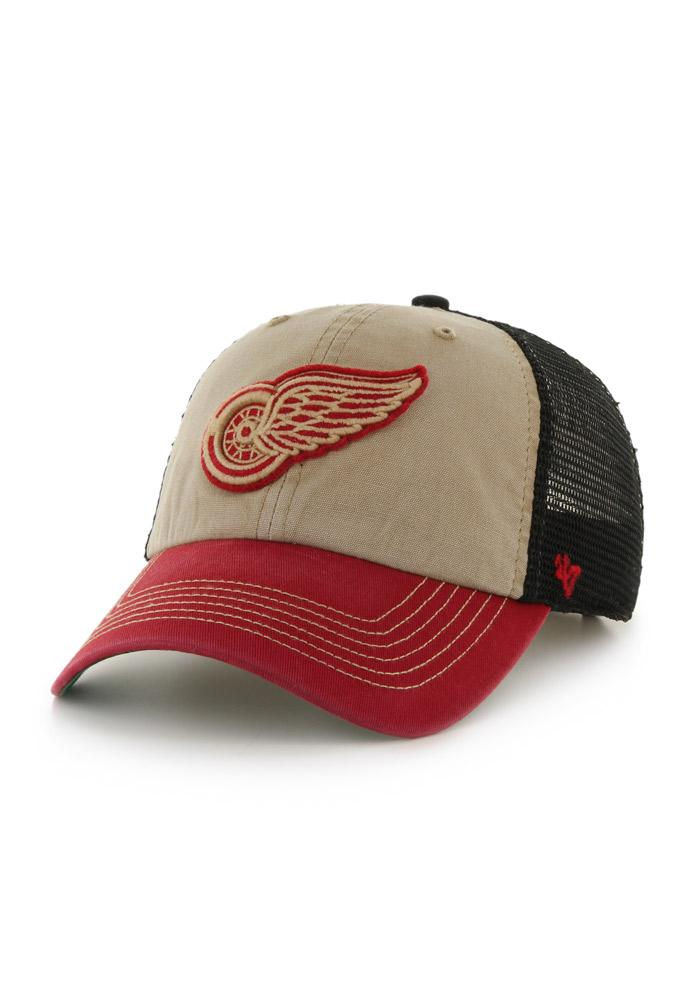 47 Detroit Red Wings McNally Clean Up Adjustable Hat - Red - Image 1