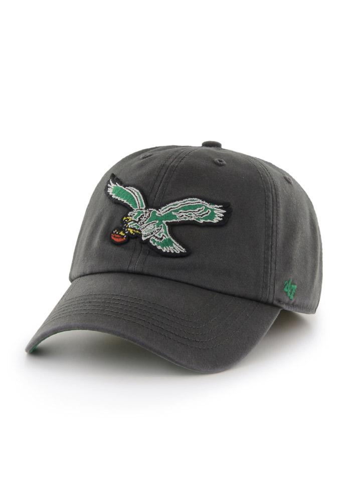 47 Philadelphia Eagles Mens Grey 47 Franchise Fitted Hat - Image 1.   d00efa497